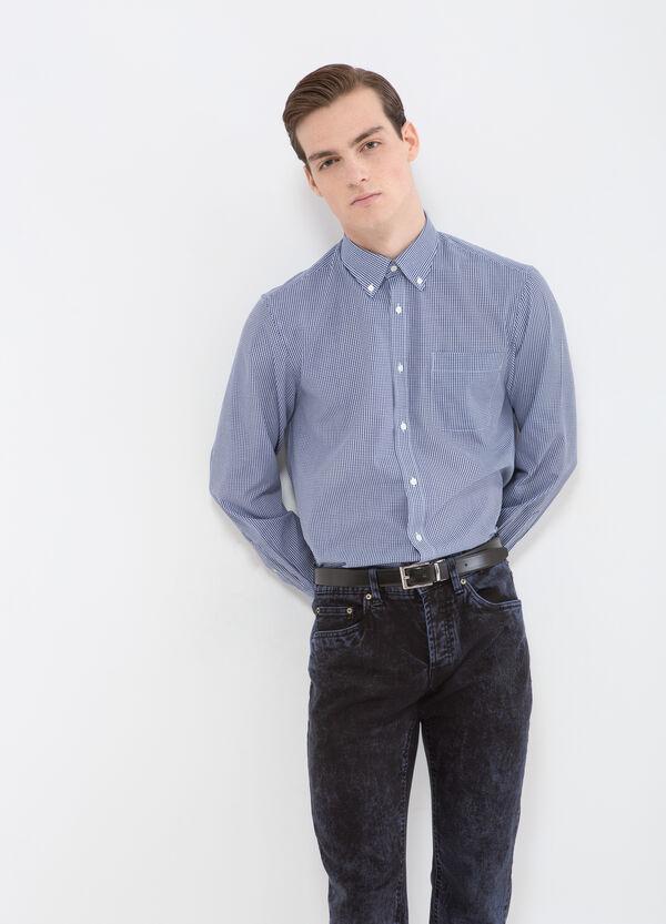 Camicia regular fit a quadri | OVS