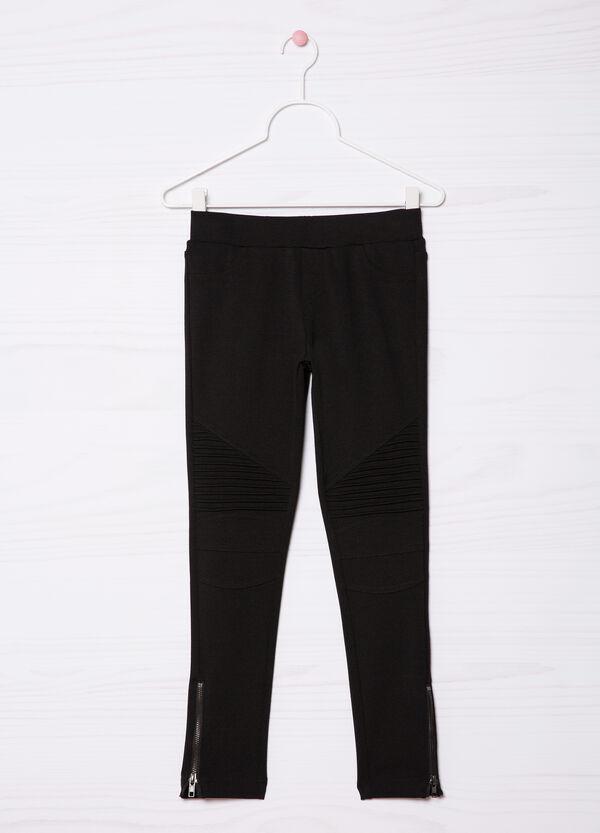 Stretch viscose blend leggings | OVS