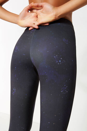 Skin Of Nature patterned stretch leggings