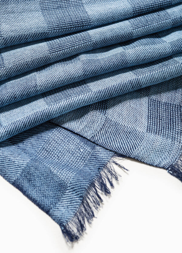 Viscose check scarf | OVS