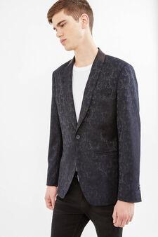 OVS Black Evening Jacket, Black/Blue, hi-res