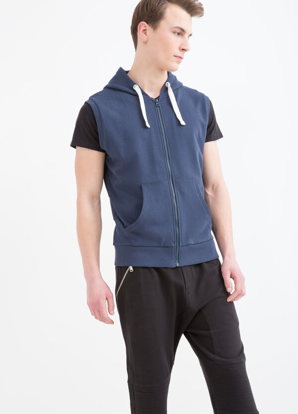 100% sleeveless sweatshirt. | OVS