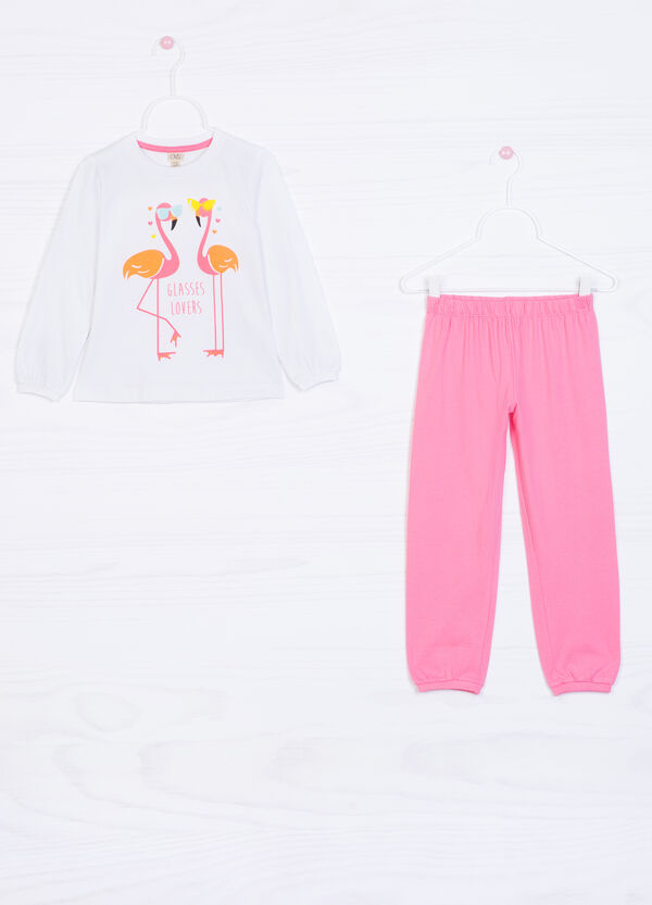 Printed pyjamas in cotton   OVS