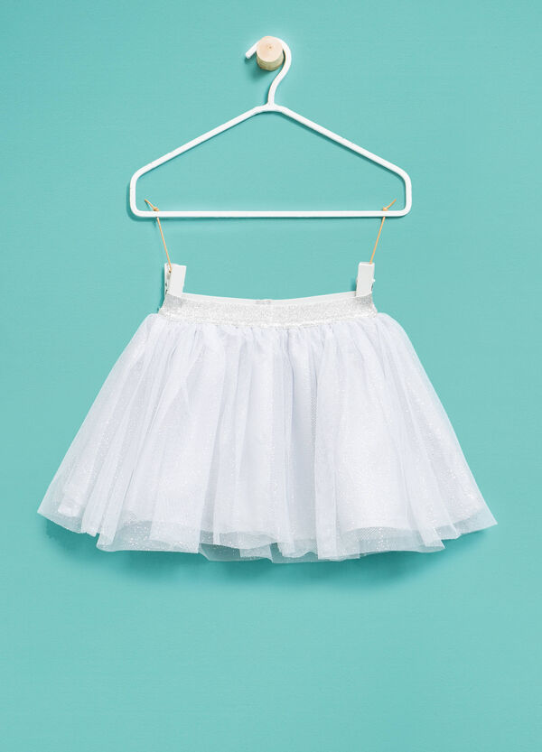 Tulle skirt with glitter | OVS