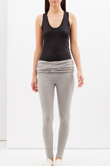 Stretch leggings, Light Grey, hi-res