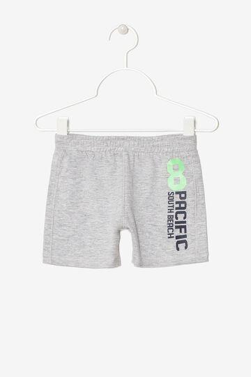 Pantaloncini con taschino, Grigio melange, hi-res