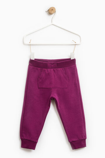 Gym pants with pouch pocket, Royal Purple, hi-res