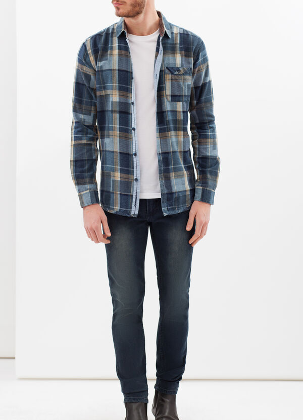 G&H tartan shirt in 100% cotton | OVS