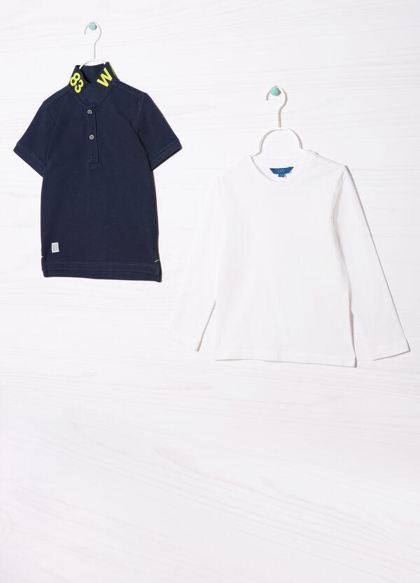 Completo polo e t-shirt cotone | OVS
