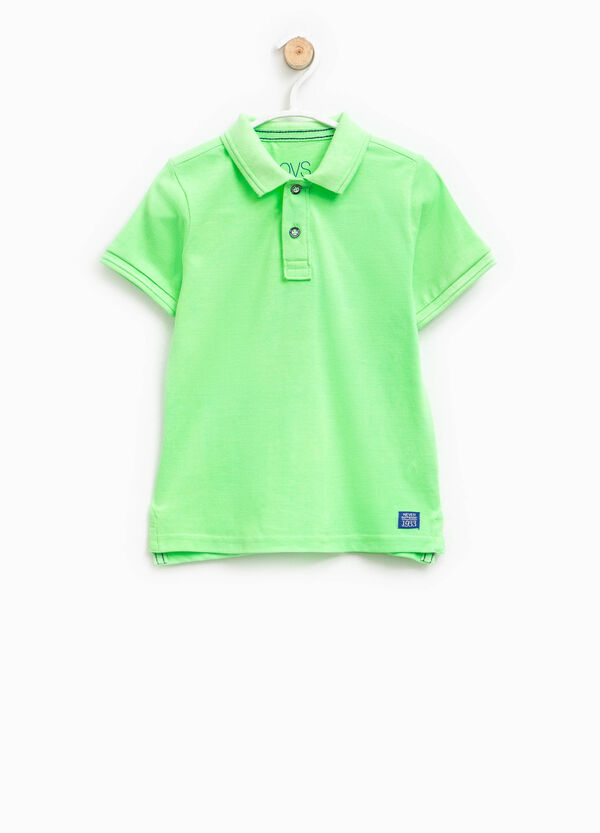Printed polo shirt in 100% cotton | OVS