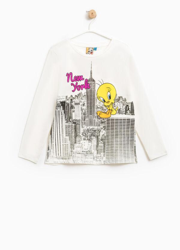 100% cotton Tweetie Pie print T-shirt | OVS