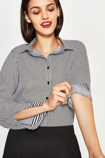 10% cotton striped shirt