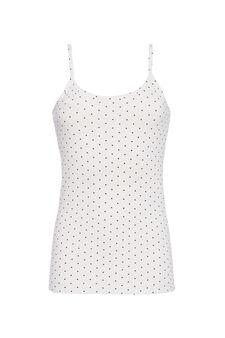 Printed jersey top, White, hi-res