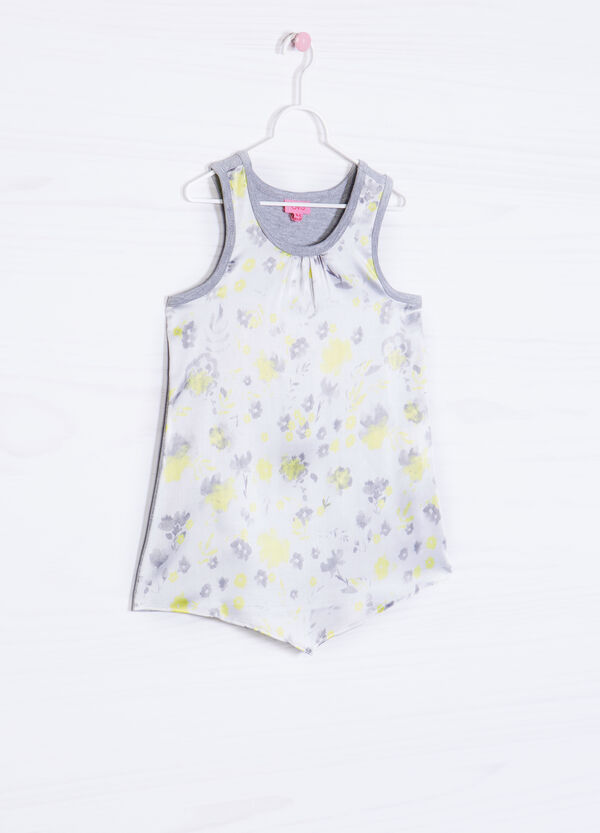 Top with floral pattern | OVS