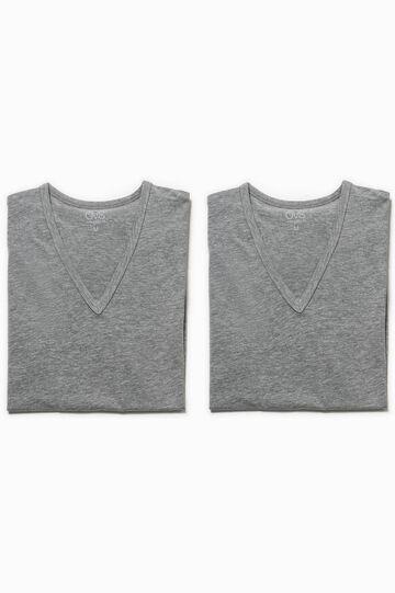 Pack de dos camisetas interiores elásticas