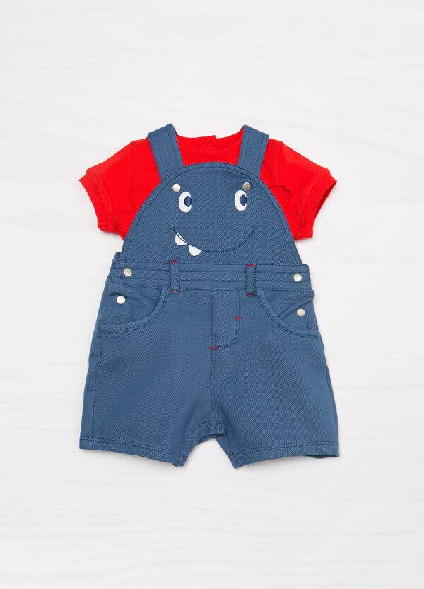 Animal stretch cotton outfit | OVS
