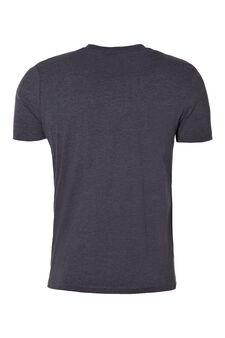Crew neck underwear T-shirt, Dark Grey Marl, hi-res