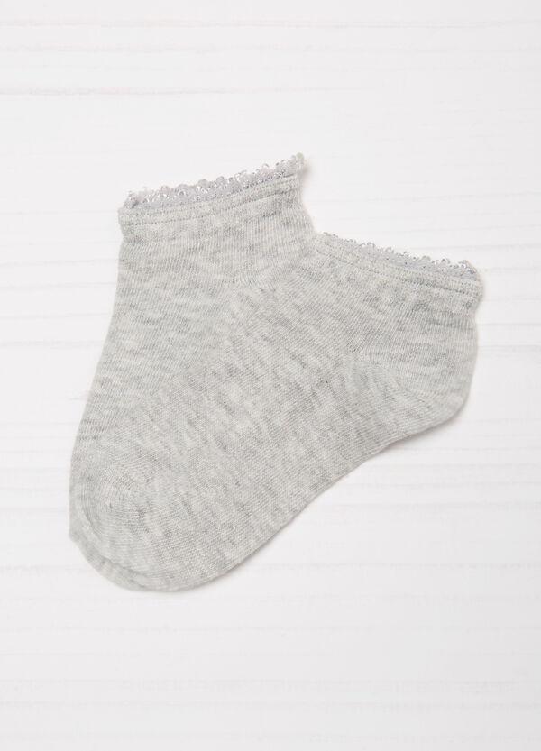 Set tre paia di calze cotone stretch | OVS