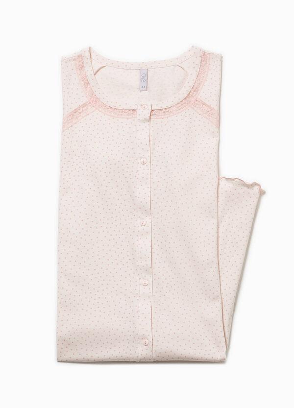 Polka dot patterned nightshirt   OVS