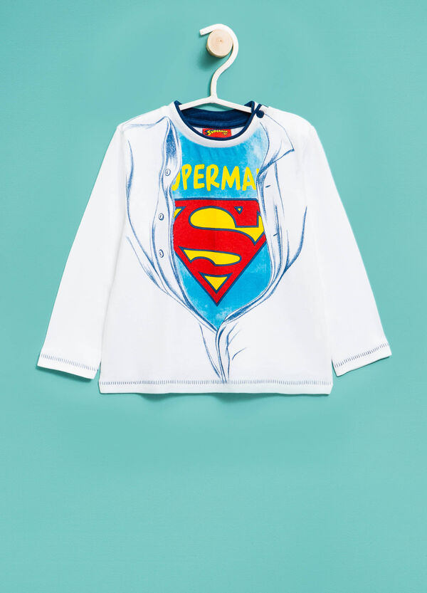 100% cotton T-shirt with Superman print | OVS