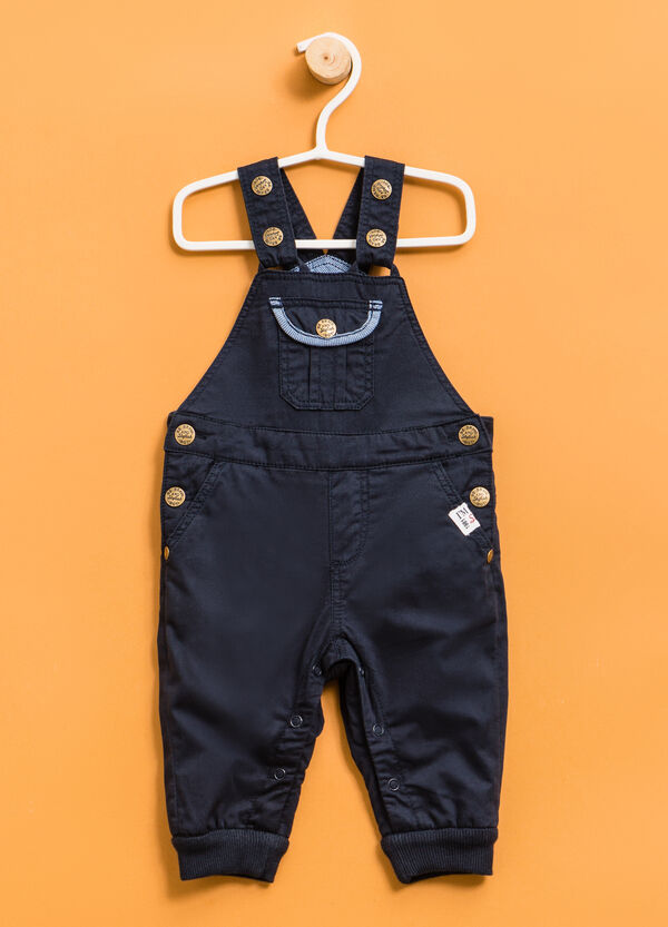 Dungarees with ribbed ankles | OVS