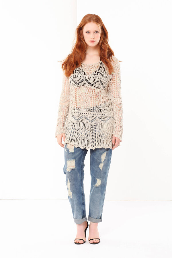 Curvyglam openwork sweater | OVS