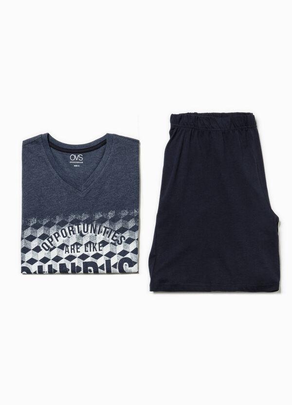 Pijama de camiseta y bermudas | OVS