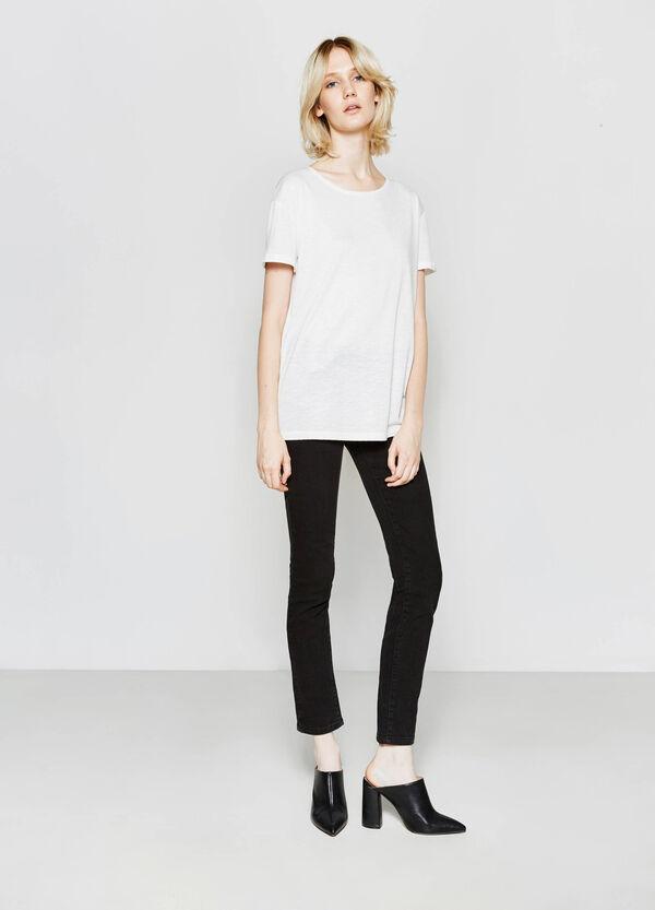 T-shirt in misto viscosa | OVS