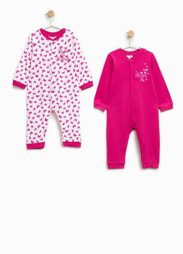 Pack de dos peleles de pijama 100% Biocotton | OVS