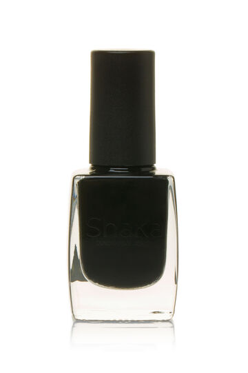 Bright colour nail polish, Black, hi-res