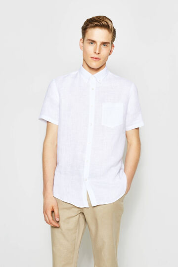 Regular-fit casual shirt with small pocket