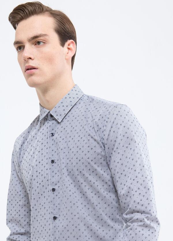 Camicia misto cotone a righine | OVS