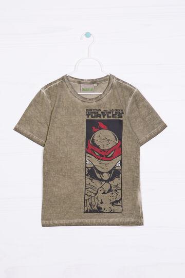 T-shirt puro cotone Ninja Turtles, Verde, hi-res