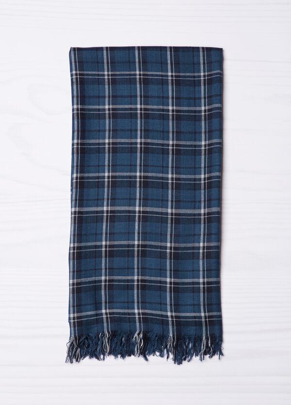 Tartan scarf in 100% viscose | OVS