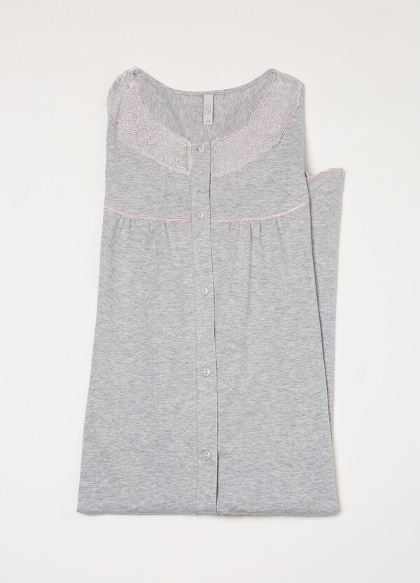 Camicia da notte pizzo | OVS