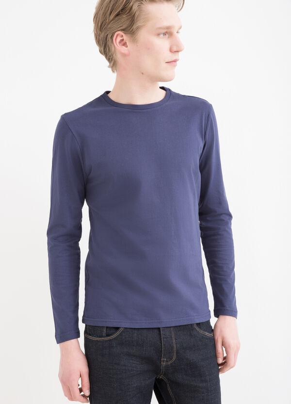T-shirt a maniche lunghe cotone | OVS