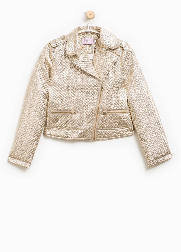 Shiny biker jacket | OVS