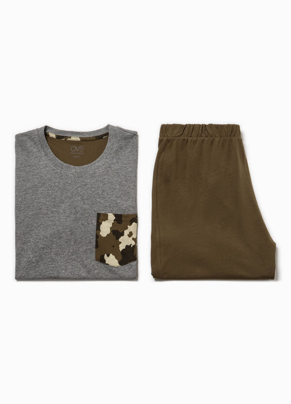 Pyjamas with camouflage pocket | OVS