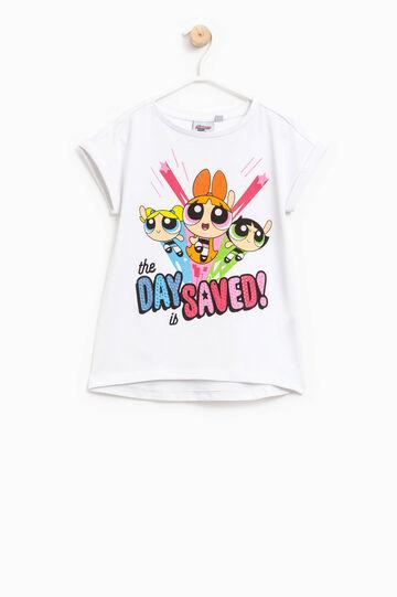 T-shirt with The Powerpuff Girls print, White, hi-res
