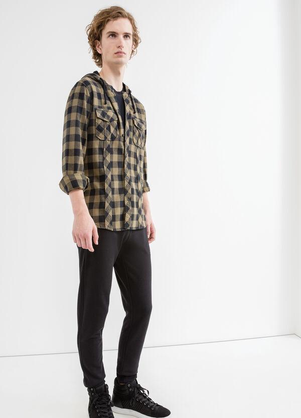 Camicia casual slim fit cappuccio | OVS