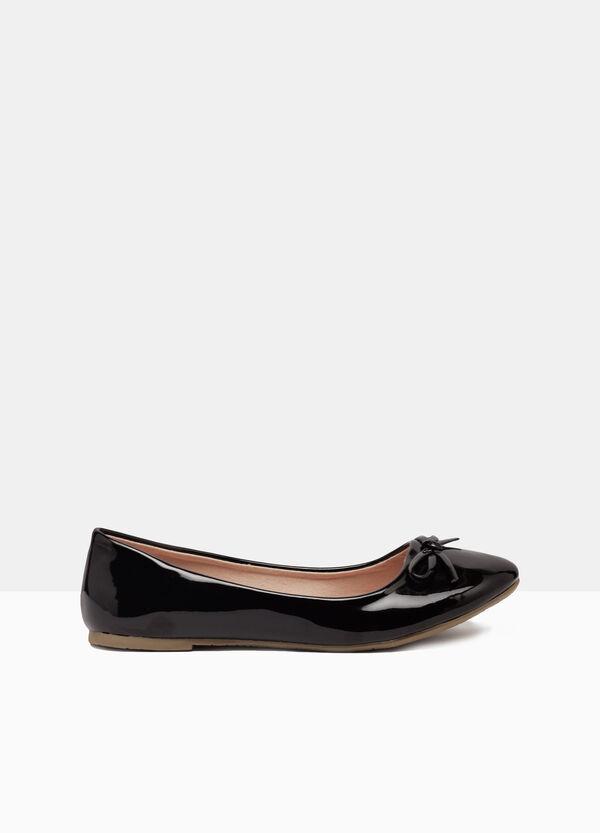Plain colour ballerina flats | OVS