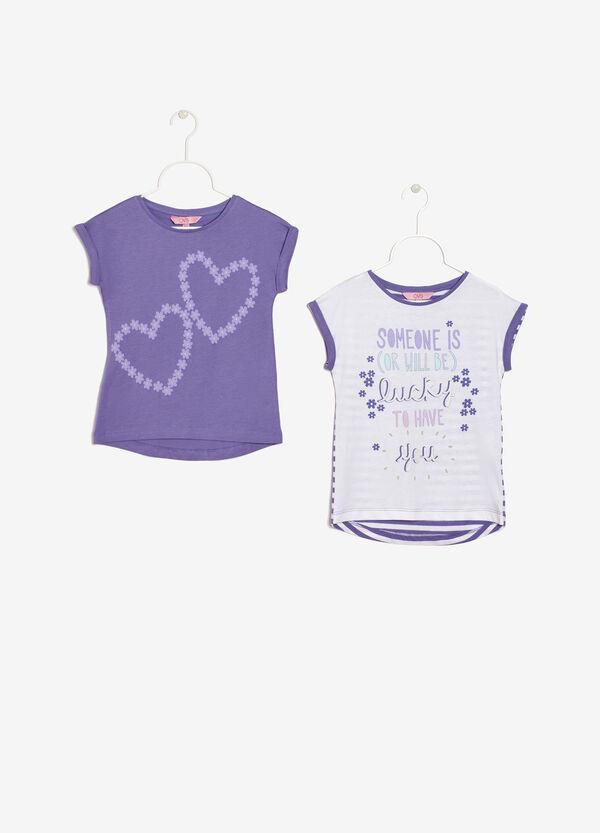 Set due t-shirt smanicate | OVS