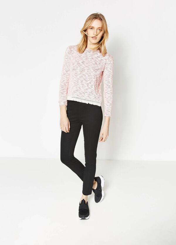 Pantaloni stretch a vita alta | OVS