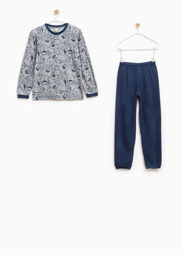 Fleece pyjamas with monsters print | OVS
