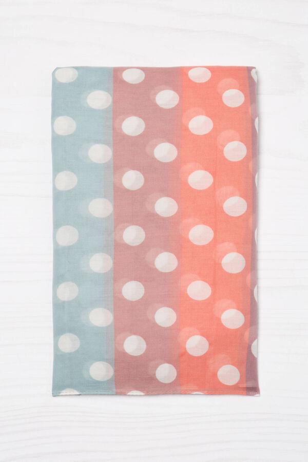 Sciarpa con stampa multicolore   OVS