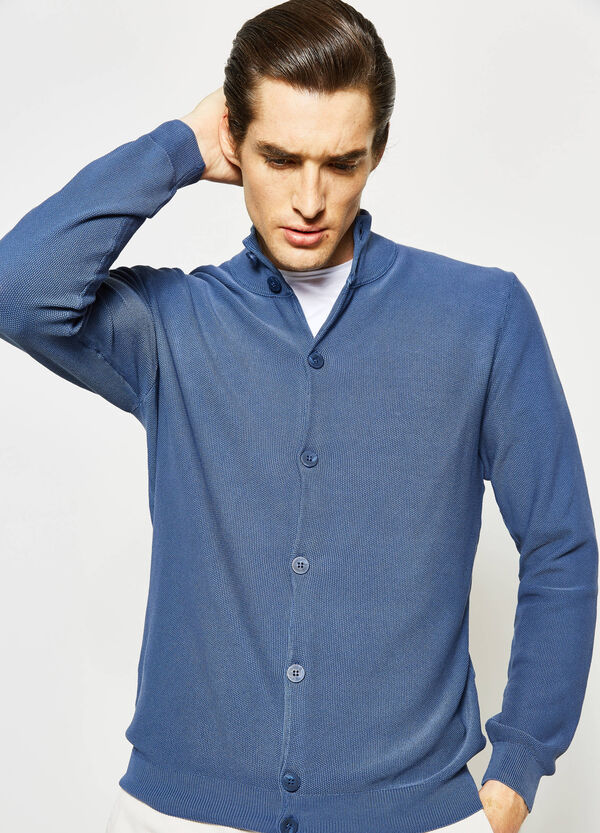 Rumford cardigan with high neck | OVS