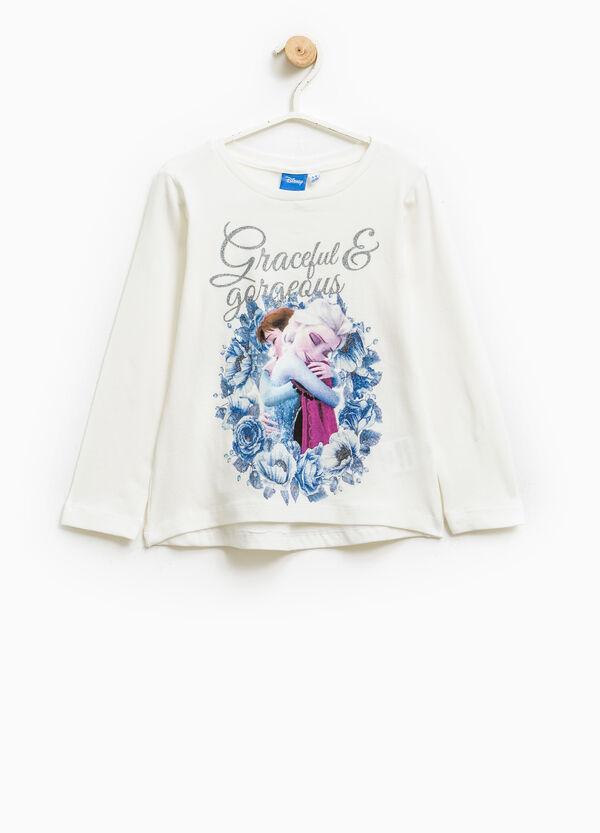 Frozen print cotton T-shirt | OVS