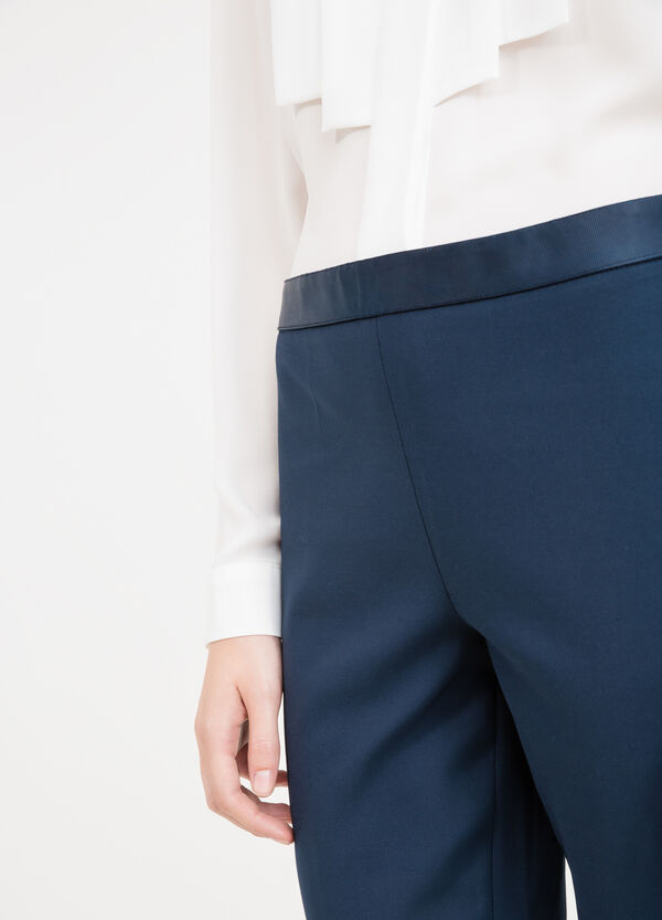 Stretch cotton elegant trousers | OVS