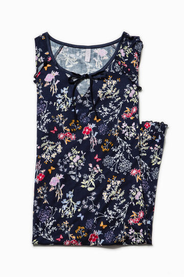 Floral patterned nightshirt