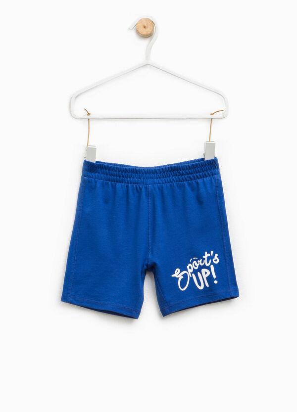 Pantalón corto con motivo de texto | OVS